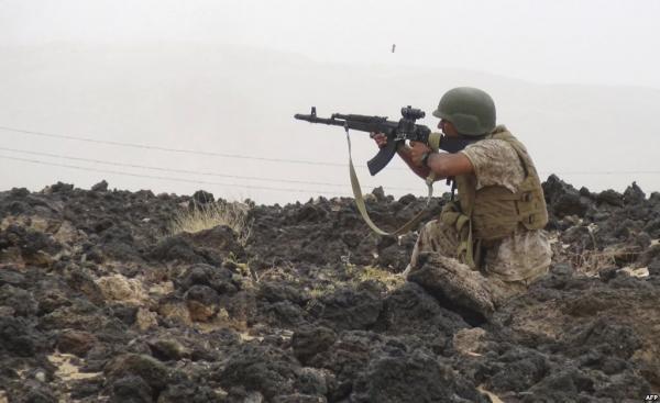 تقدم ميداني جديد للقوات الحكومية في خب والشعف بالجوف