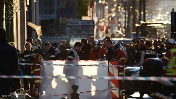 جرحى بعملية طعن بمرسيليا الفرنسية والشرطة تقتل المنفذ