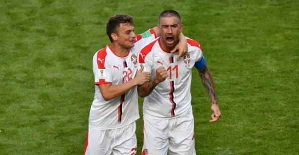 صربيا تنتزع الفوز من كوستاريكا بهدف مقابل صفر