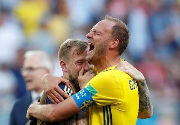 السويد تتجنب نحس البدايات بفوزها على كوريا الجنوبية