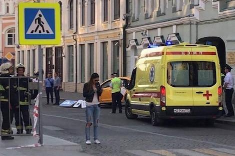 حادث دهس في موسكو: السائق هرب من موقع الحادث &#34خوفا من أن يقتله المارة&#34