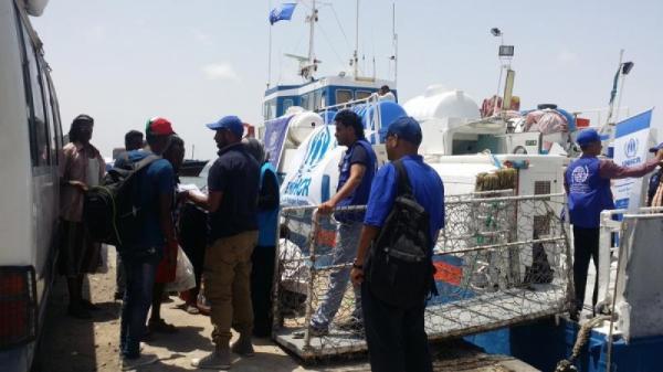 الهجرة الدولية تجلي أكثر من ألفي مهاجر إثيوبي من اليمن
