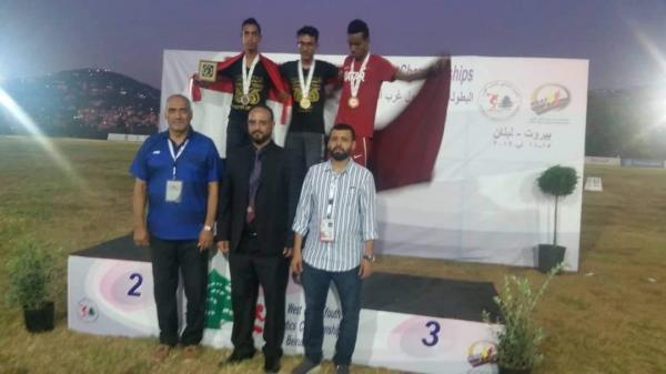 المنتخب اليمني للناشئين لألعاب القوى يحقق ميداليتين ذهبية وفضية في سباق 3 آلاف متر في بطولة غرب آسيا