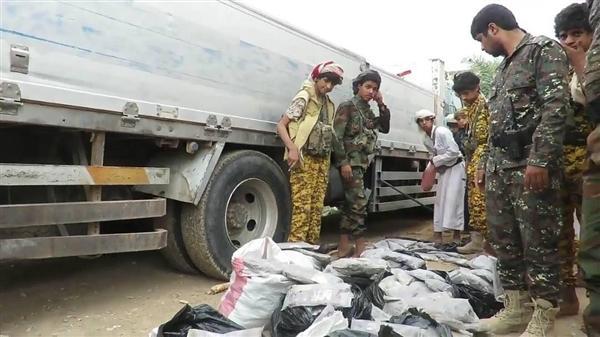 أمن الجوف يحبط تهريب كمية من الحشيش للحوثيين