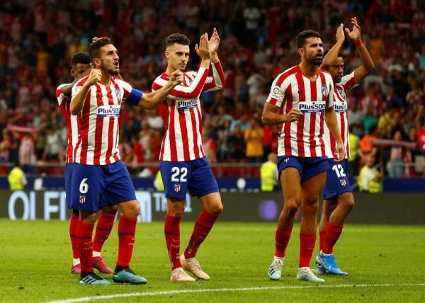 أتليتيكو مدريد ينتفض ويهزم إيبار ليحقق انتصاره الثالث