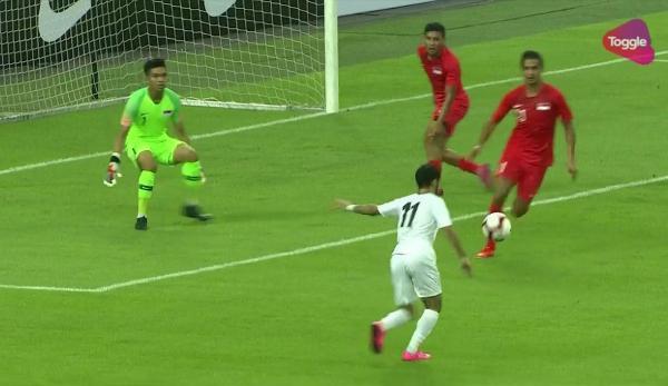منتخب اليمن يتعادل مع سنغافورة بهدفين لمثلهما في تصفيات آسيا لكأس العالم