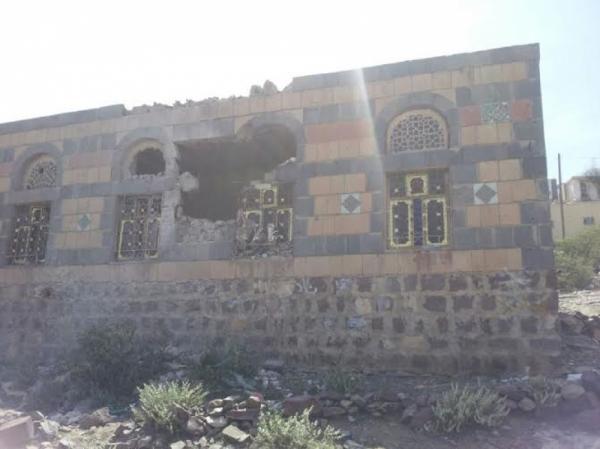 إصابة 4 مدنيين بقصف حوثي على منازل المواطنين في مريس الضالع
