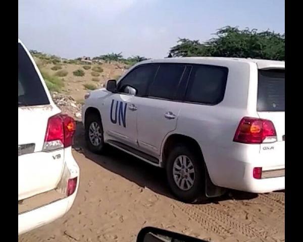 بالتنسيق مع القوات المشتركة.. قافلة غذائية تابعة للأمم المتحدة تتوجه لمدينة الدريهمي