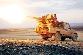 هجوم للقوات الحكومية انتهى بدحر مليشيا الحوثي من مواقع عدة في منطقة المدفون بنهم