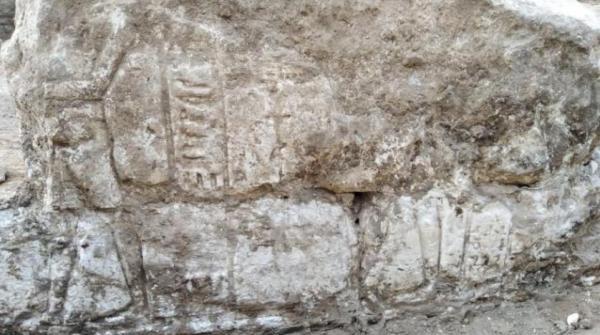 اكتشاف معبد أثري أثناء حفر مشروع صرف صحي في صعيد مصر