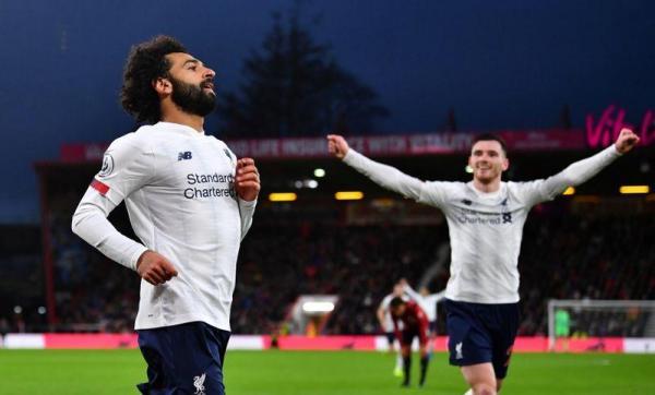 ليفربول يواصل الانتصارات رغم تغييرات عديدة أمام بورنموث